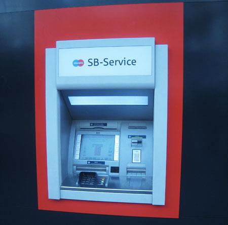 Skimming am Geldautomat